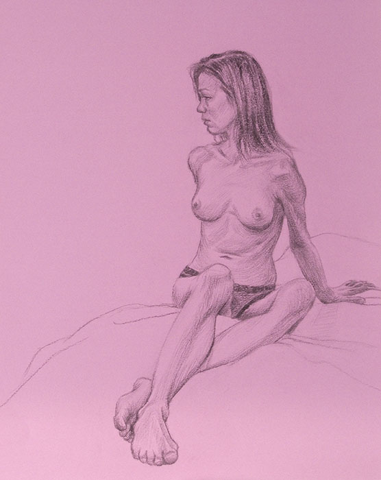 HH figure study seated