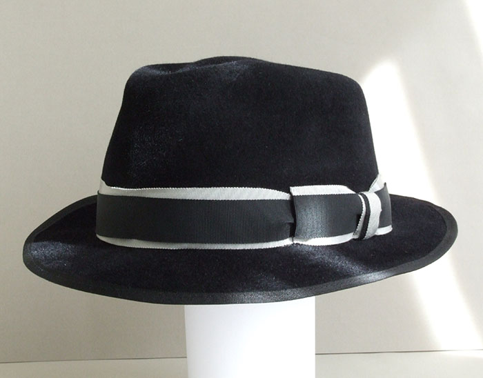 hand blocked felt trilby